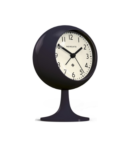 Dome Alarm Clock, Petrol Blue