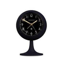 Newgate Dome Alarm Clock, Petrol Blue, Reverse Dial
