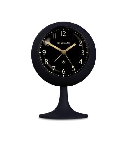 Dome Alarm Clock, Petrol Blue, Reverse Dial