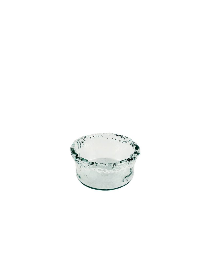 BIDK Home Medium Recycled Glass Artisanal Bowl
