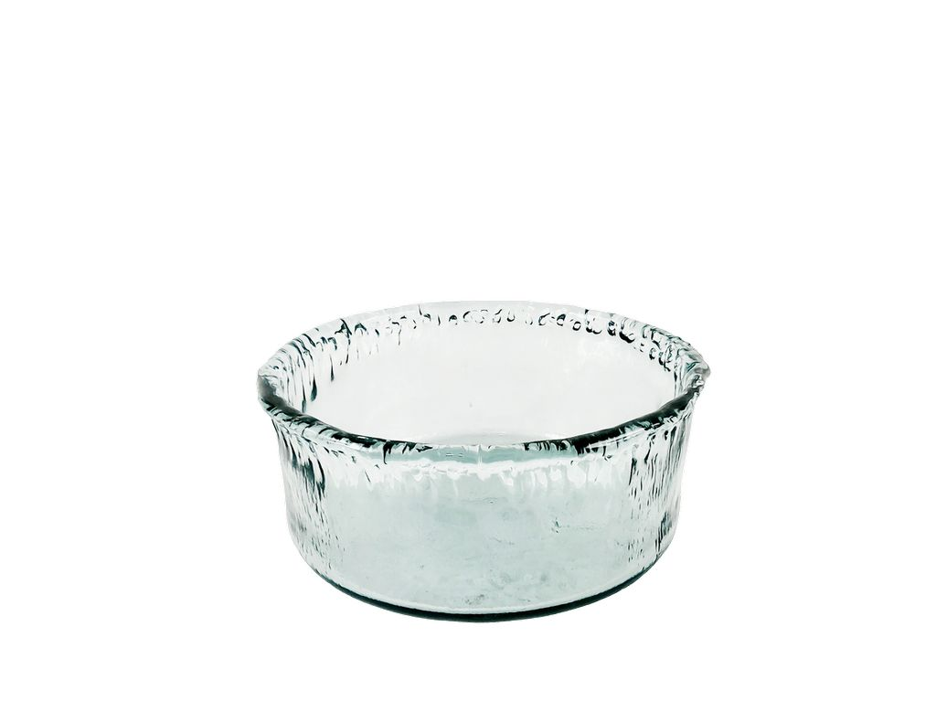 Large Recycled Glass Artisanal Bowl