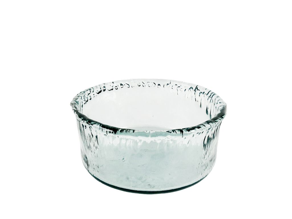 Extra Large Recycled Glass Artisanal Bowl