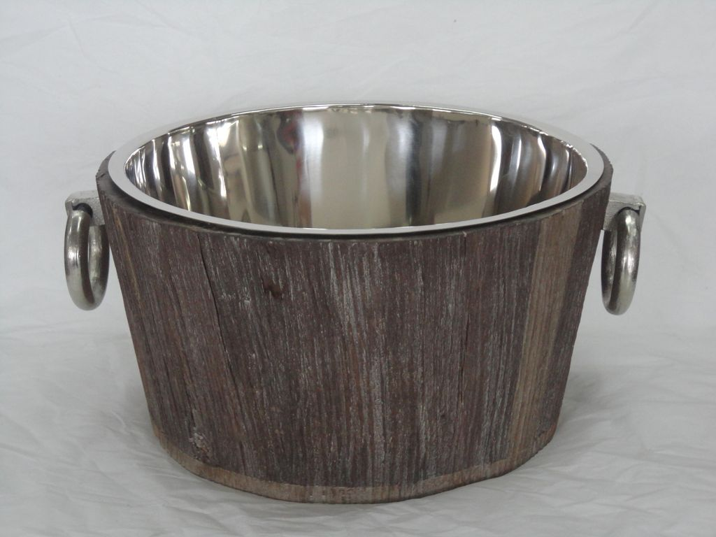 Tub Round Nickel Plated