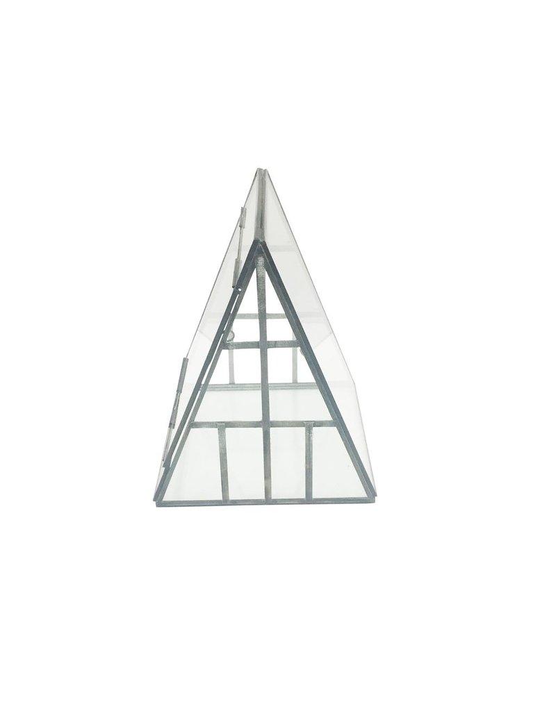 BIDK Home Iron &amp; Glass A-Frame Terrarium<br /> <br /> Iron &amp; Glass A-Frame Terrarium