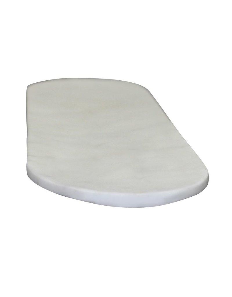 BIDK Home Medium Marble Oval Tray