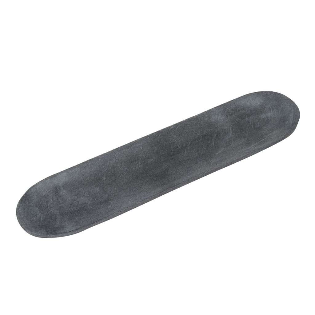 Medium Marble Oval Tray - Black