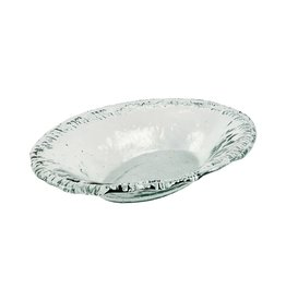 BIDK Home Large Recycled Glass Oval Dish 20.5""