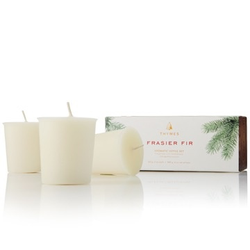 FRAISER FIR VOTIVE CANDLE SET