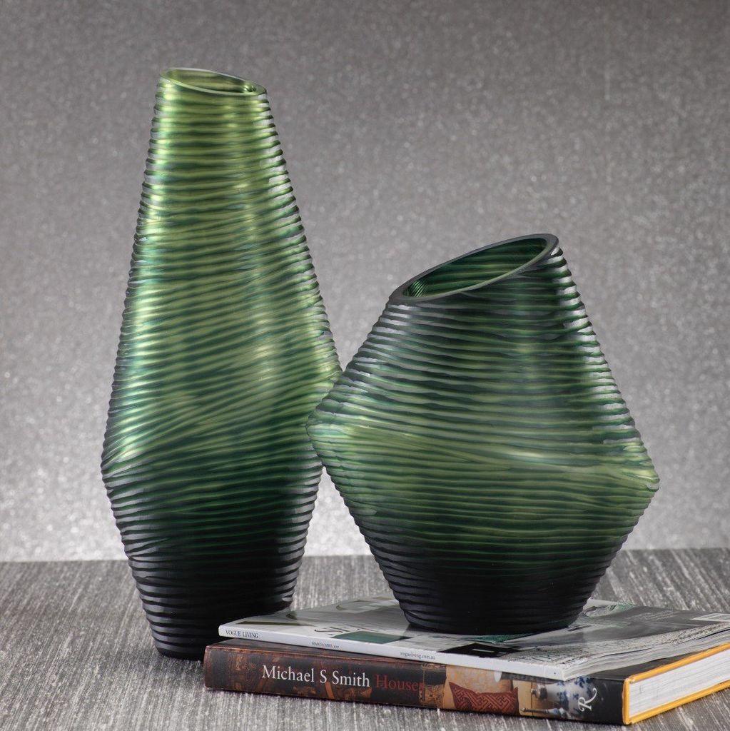 Groove Vase, Tall