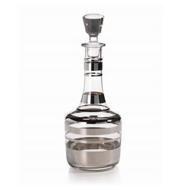 Nicoli Glass Decanter, Platinum