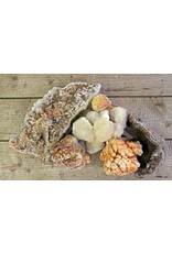 Blue Ocean Traders MIXED CAVE CALCITE, JUMBO