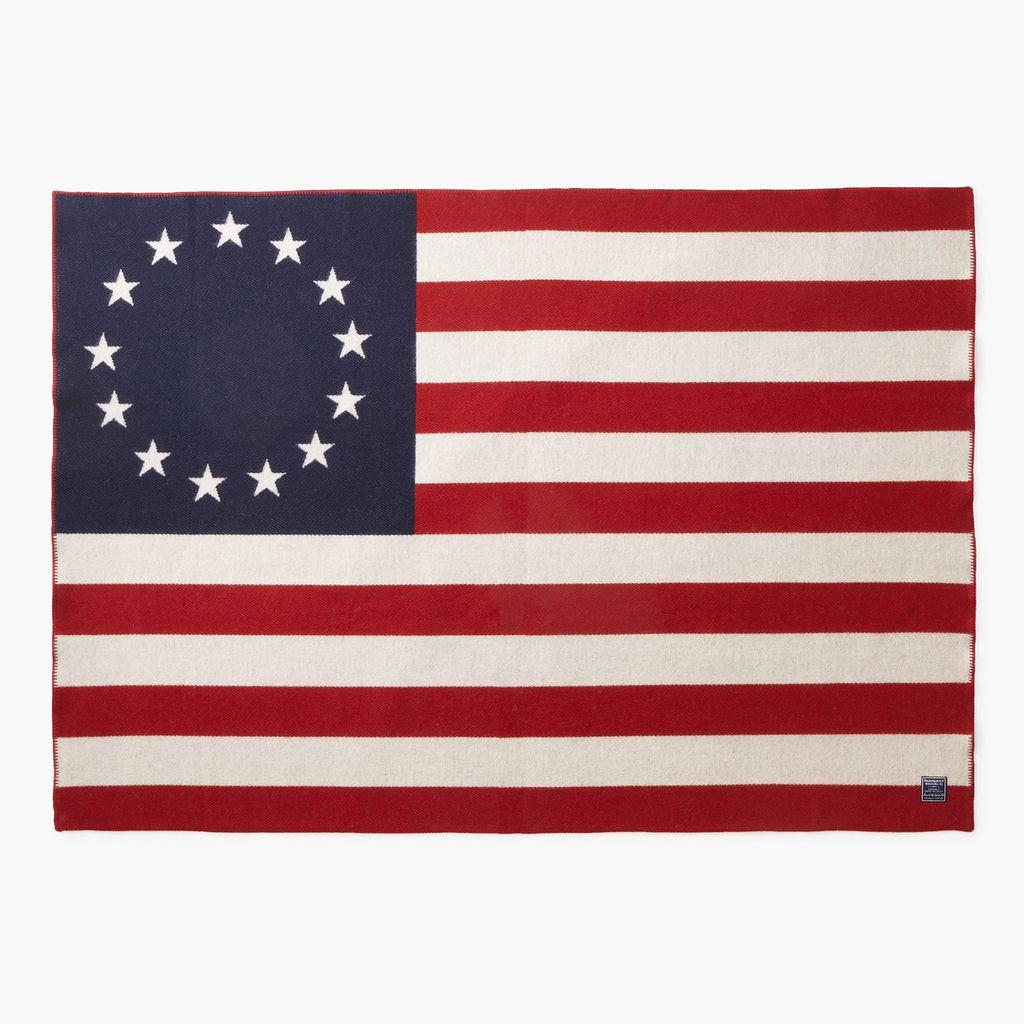 1776 FLAG WOOL THROW