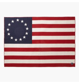 1776 FLAG WOOL THROW
