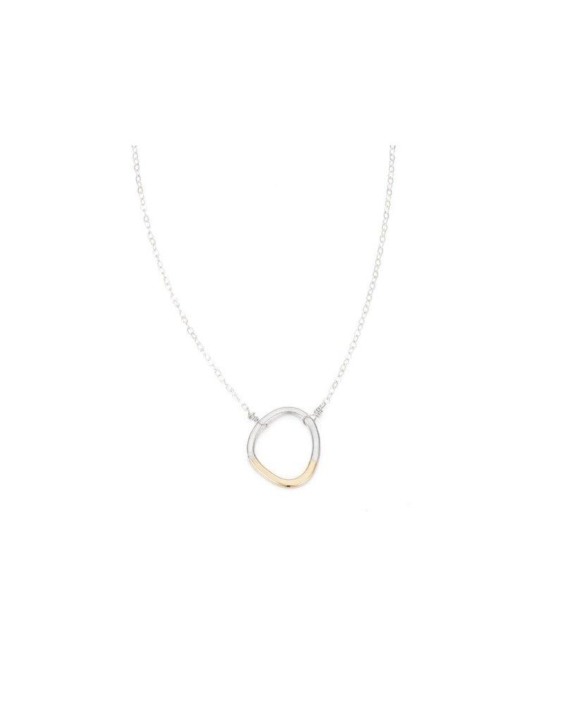 Colleen Mauer Designs Gold & Silver Mini Stone Necklace
