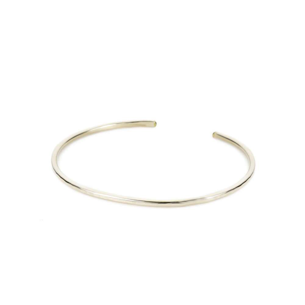 Thin Gibbous Cuff, Gold