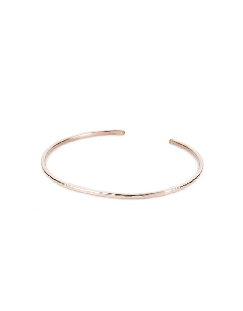 Colleen Mauer Designs Thin Gibbous Cuff, Rose Gold