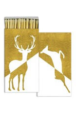 MATCHES - STAG &amp; DOE - GOLD FOIL<br /> MATCHES - STAG &amp; DOE - GOLD FOIL