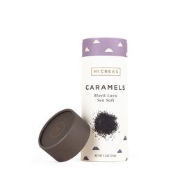 5.5 oz., Black Lava Sea Salt Caramels