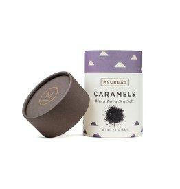 McCrea's Candies 2.4 oz., Black Lava Sea Salt Caramels