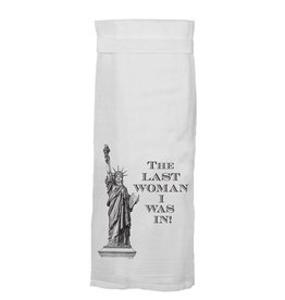 Twisted Wares Last Woman Towel