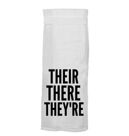 Twisted Wares Their There They're Kitchen Towel