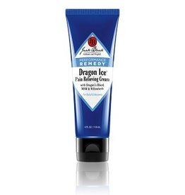 Jack Black Authentic and Original Dragon Ice® Pain Relieving Cream with Dragon's Blood, MSM & Willowherb
