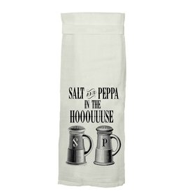 Twisted Wares Salt And Peppa In The Hooouuuse Kitchen Towel