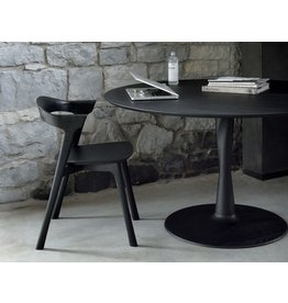 "Ethnicraft USA LLC Torsion Dining Table Black 50""x50""x30"""