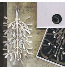 Roost Silverplate Beaded Mistletoe