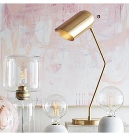 Roost Brass Incline Table Lamp