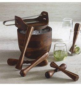 Roost Hemingway Ice Bucket with Tongs