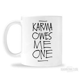 Mugnacious Karma Owes Me One Mug