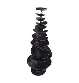 Accent Decor BLACK IRON TREE CANDLE HOLDER - MEDIUM