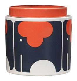 1 Litre Storage Jar, Elephant