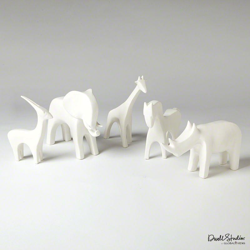 Horse-Matte White