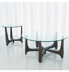 Global Views Serpa Cocktail Table<br /> 9&quot;L x 7.5&quot;W x 8&quot;H