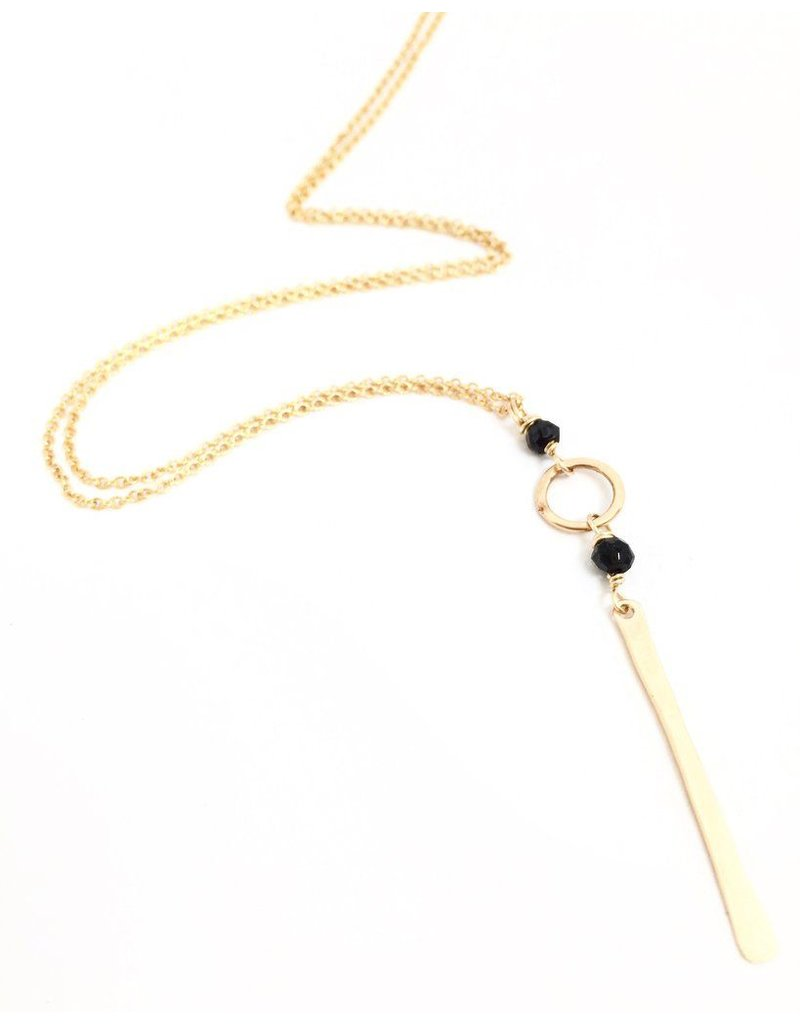 Dotted Line Ana Necklace