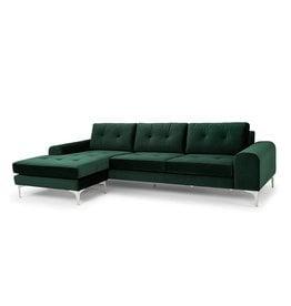Nuevo Bautzen Sectional, Emerald Green