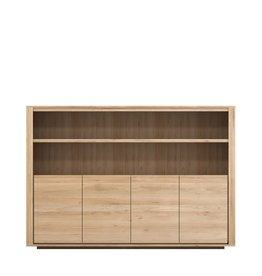OAK SHADOW SIDEBOARD HIGH