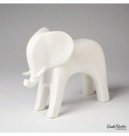 Elephant-Matte White