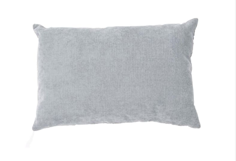 LUXE PILLOW PEARL BLUE 16X24
