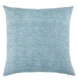 "MANDARINA SILVER BLUE PILLOW 20""X20"""