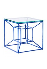 Floating Blue Side Table