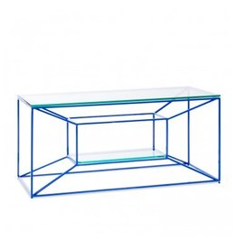 Floating Blue Coffee Table