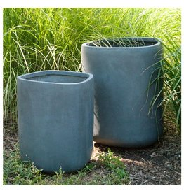 "Tombo Grey Planter 21.5""H"