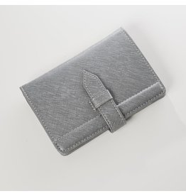 Worldly Passport Holder Grey