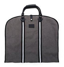 Original Garment Bag Grey/Black/White Stripes