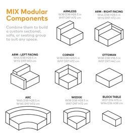 Mix Modular Sectional, Corner