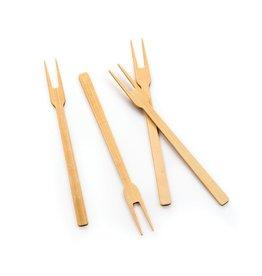 """Bamboo 6"""" Appetizer Fork"""