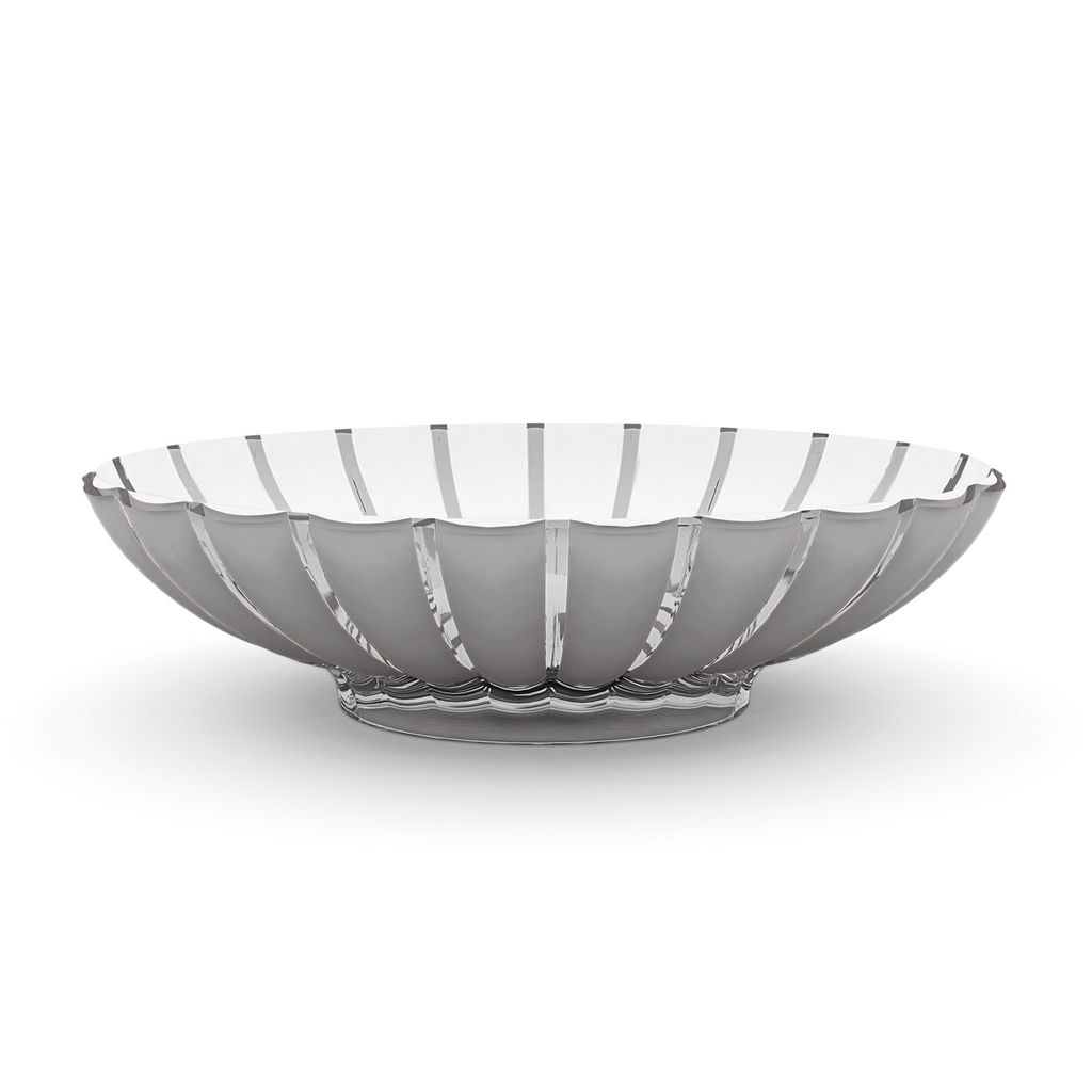 Grace Centerpiece/Fruit Bowl, Grey